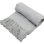 Grey Novelty Throw by Fabstyles