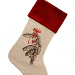 Trimmings Christmas Stocking by Alamode Home