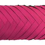 Fuchsia Tux Cushions by Alamode Home