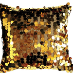 Gold Vegas Cushions by Alamode Home