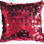 Red Vegas Cushions by Alamode Home
