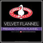 Velvet Flannel Bedding by Cuddle Down