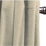 Taupe Vintage Velvet Curtains by Alamode Home