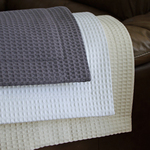 Waffle Weave Blankets & Throw by Cuddle Down