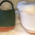 Wool & Hemp Ankle Slippers