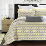 Zig Zag Duvet Cover Set by Daniadown